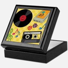 Retro Music Collection Keepsake Box