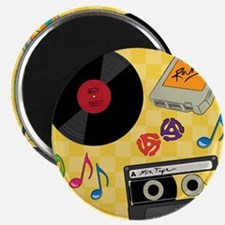 Retro Music Collection Magnet