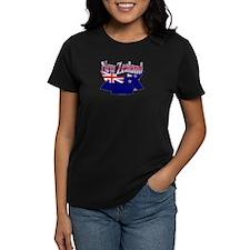 New Zealand flag ribbon Tee