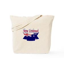 New Zealand flag ribbon Tote Bag