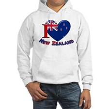 I love New Zealand Hoodie