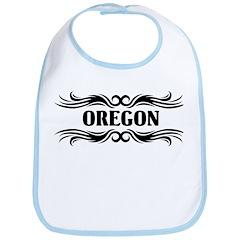Tribal Oregon Bib