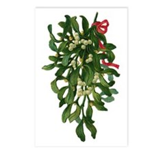 mistletoe Postcards (Package of 8)