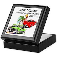 marco island muscle cars Keepsake Box
