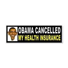 OBAMA CANCEL_001 Car Magnet 10 X 3
