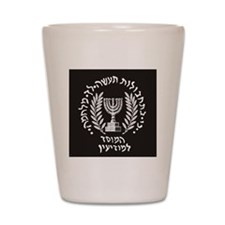 MOSSAD Shot Glass