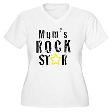 Mums Rock Star T-Shirt