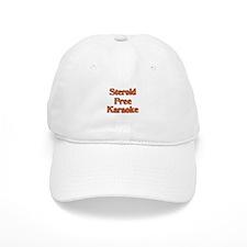Steroid Free Karaoke Baseball Cap