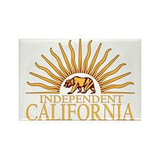 Independt California v4 Rectangle Magnet