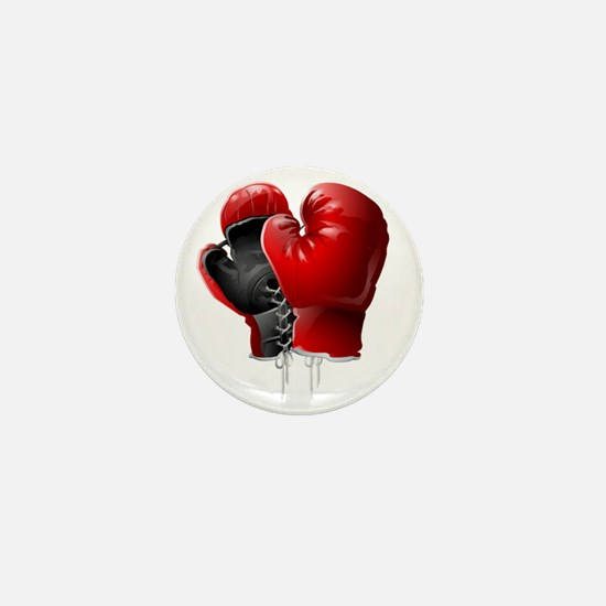 boxing gloves Mini Button