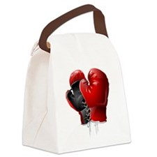 boxing gloves Canvas Lunch Bag