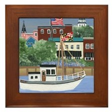 Annapolis View Framed Tile