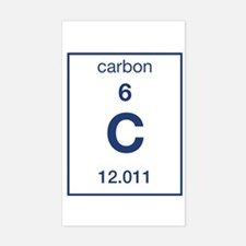 Carbon Rectangle Decal
