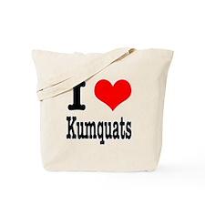 I Heart (Love) Kumquats Tote Bag
