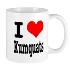 I Heart (Love) Kumquats Mug
