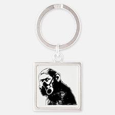 APN201 - Masked Ape Square Keychain
