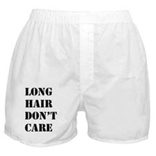 long hair dont care  Boxer Shorts
