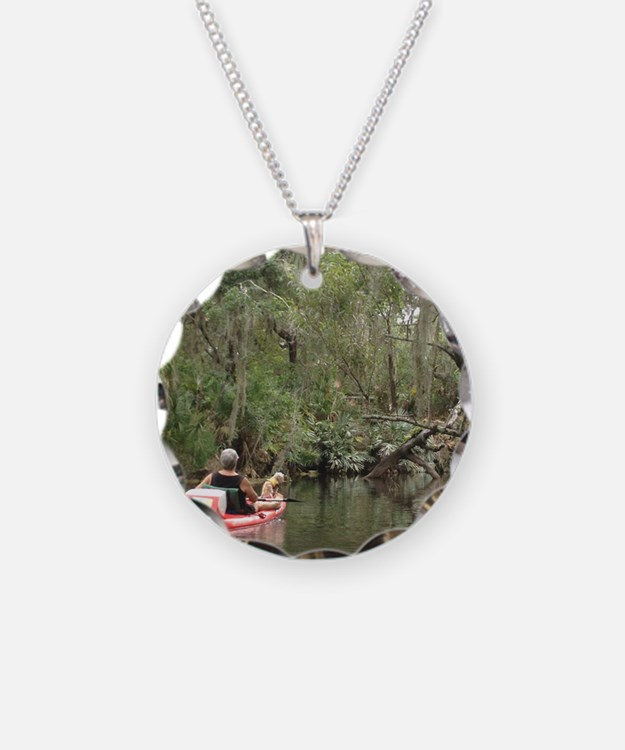 Kayaking with Harley Necklace