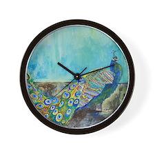 Peacock Paparazzi Wall Clock