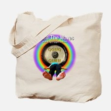 Catch The Waves Tote Bag