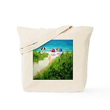Beach Trail Tote Bag
