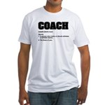 Coach Definition Fitted T-Shirt