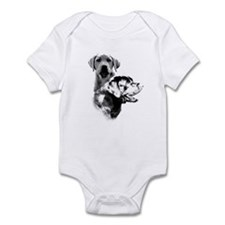 Lab Charcoal2 Infant Bodysuit
