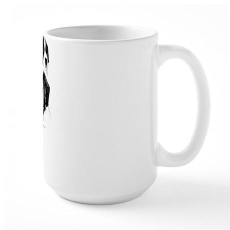 Saint Charcoal2 Large Mug
