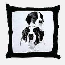Saint Charcoal2 Throw Pillow
