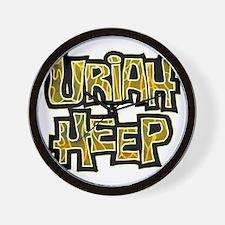 Uriah Heep Shirt Wall Clock