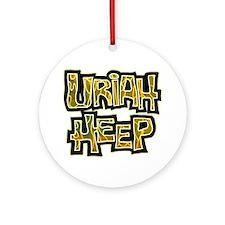 Uriah Heep Shirt Round Ornament