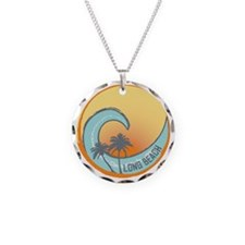 Long Beach Sunset Crest Necklace