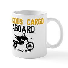 Precious Cargo Aboard! - Dirtbike Small Mug