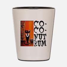 Coconut Rum Shot Glass