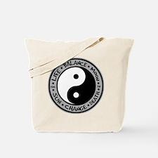 Yin & Yang Meanings Tote Bag