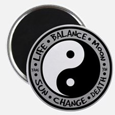 Yin & Yang Meanings Magnet