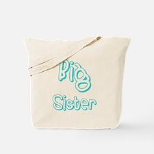 Big Sister (Teal) Tote Bag