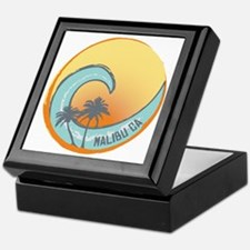 Malibu Sunset Crest Keepsake Box