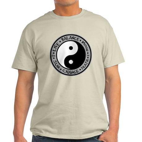 Yin & Yang Meanings Light T-Shirt