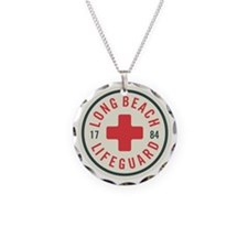 Long Beach Lifeguard Badge Necklace