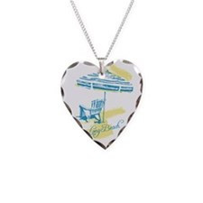 Long Beach Serenity Print Necklace