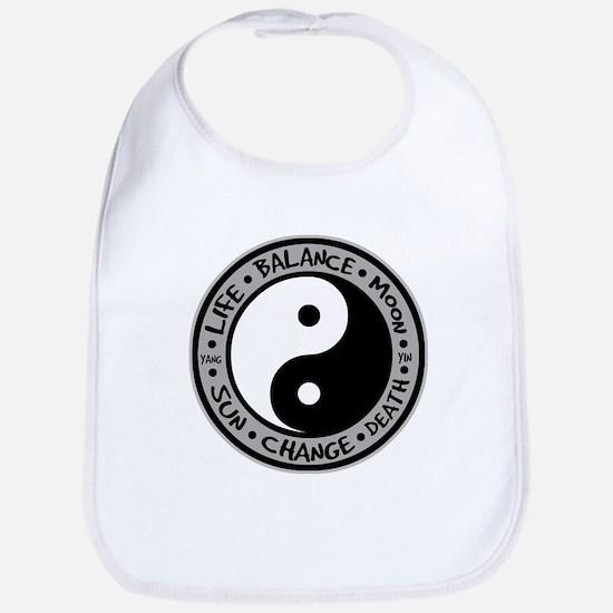 Yin & Yang Meanings Bib