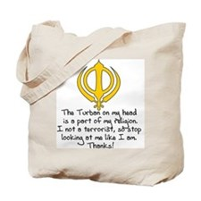 Turban Statement Tote Bag