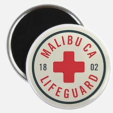 Malibu Lifeguard Badge Magnet