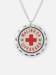 Malibu Lifeguard Badge Necklace