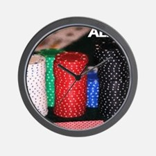 all in! Wall Clock