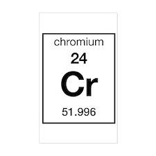 Chromium Rectangle Decal