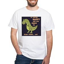 t-rex-clap-2-TIL Shirt