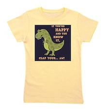 t-rex-clap-2-TIL Girl's Tee