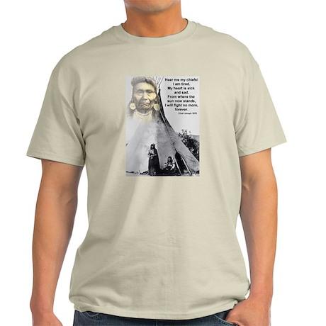 Chief Joseph Light T-Shirt